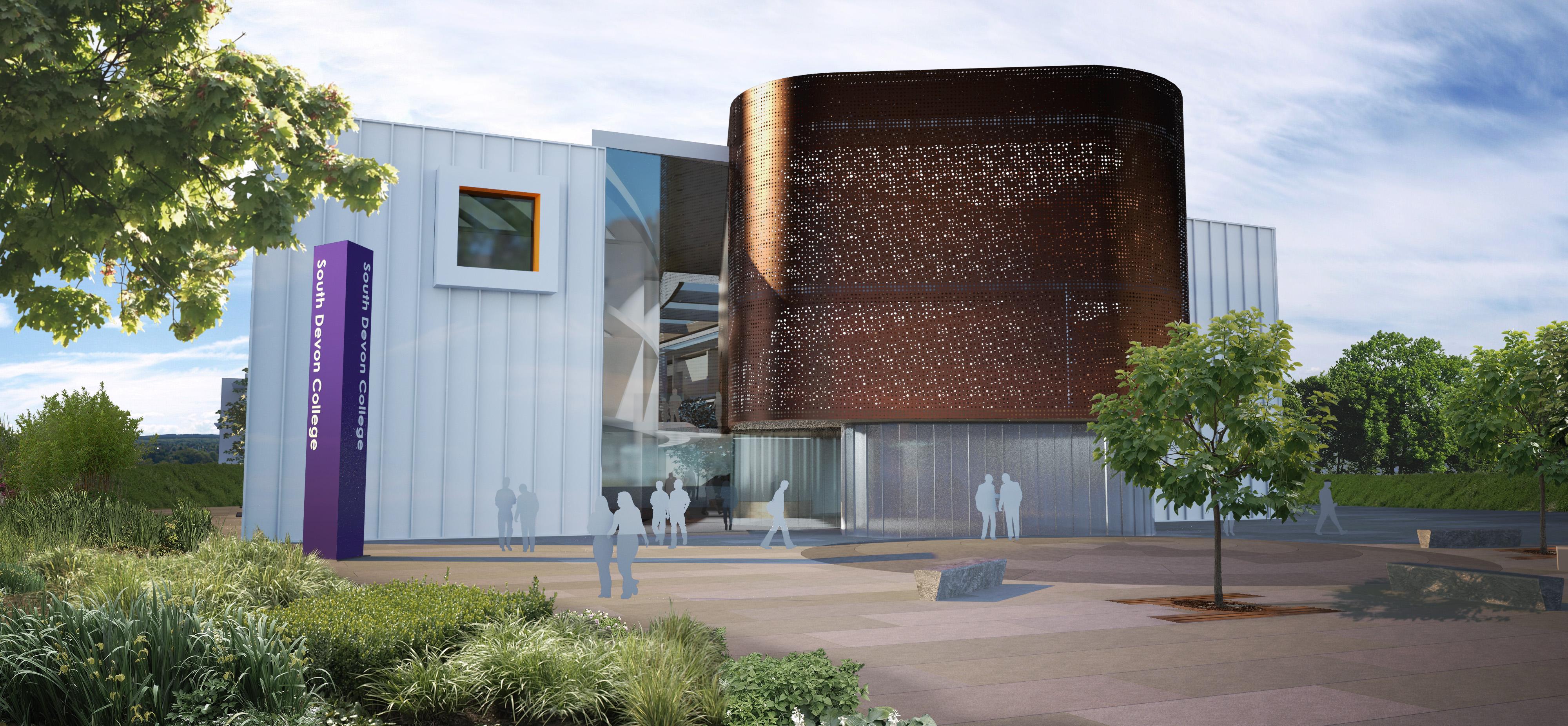 South Devon College Hi-Tech Centre vision