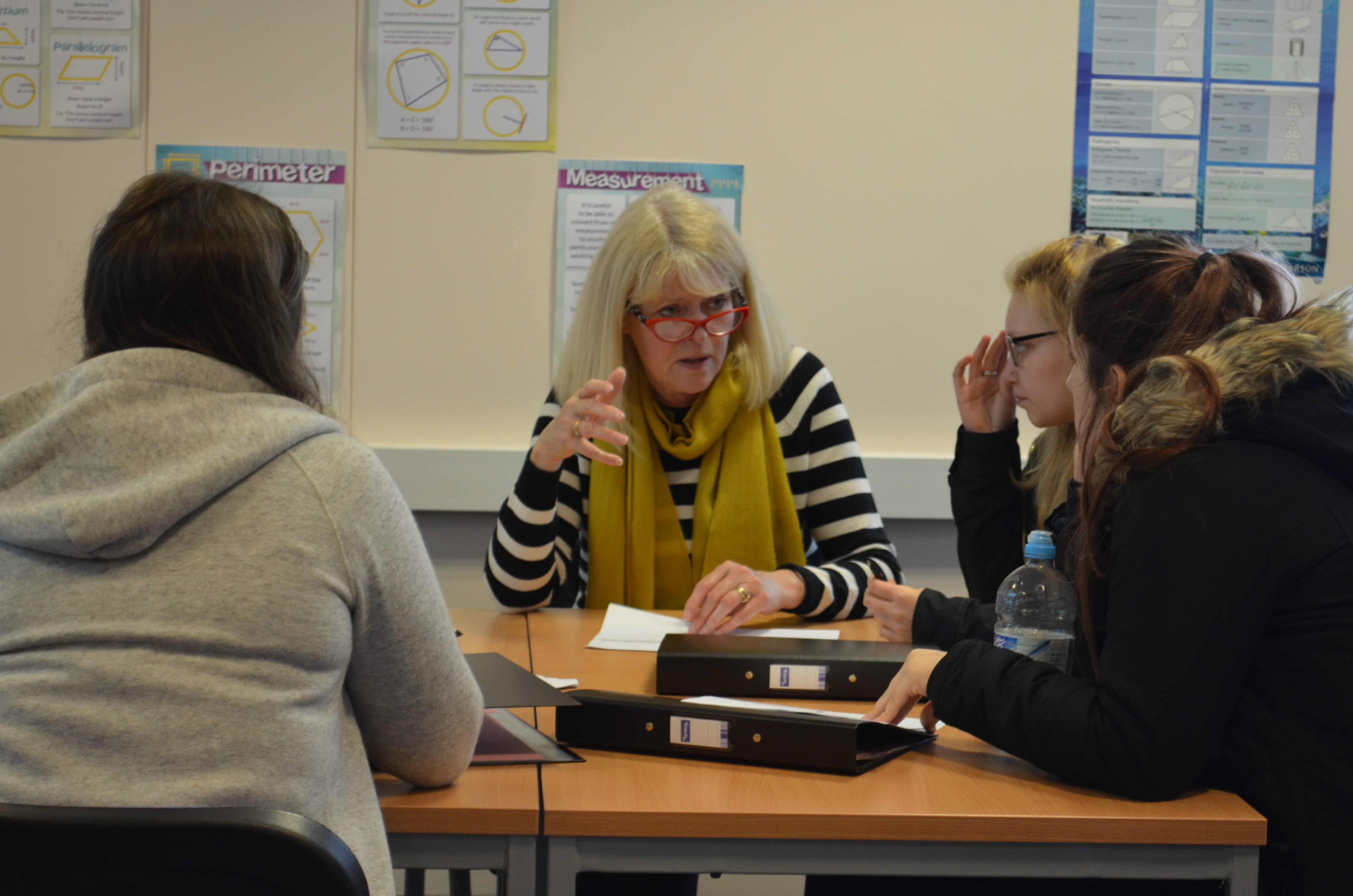 Focus 5 group South Devon High School