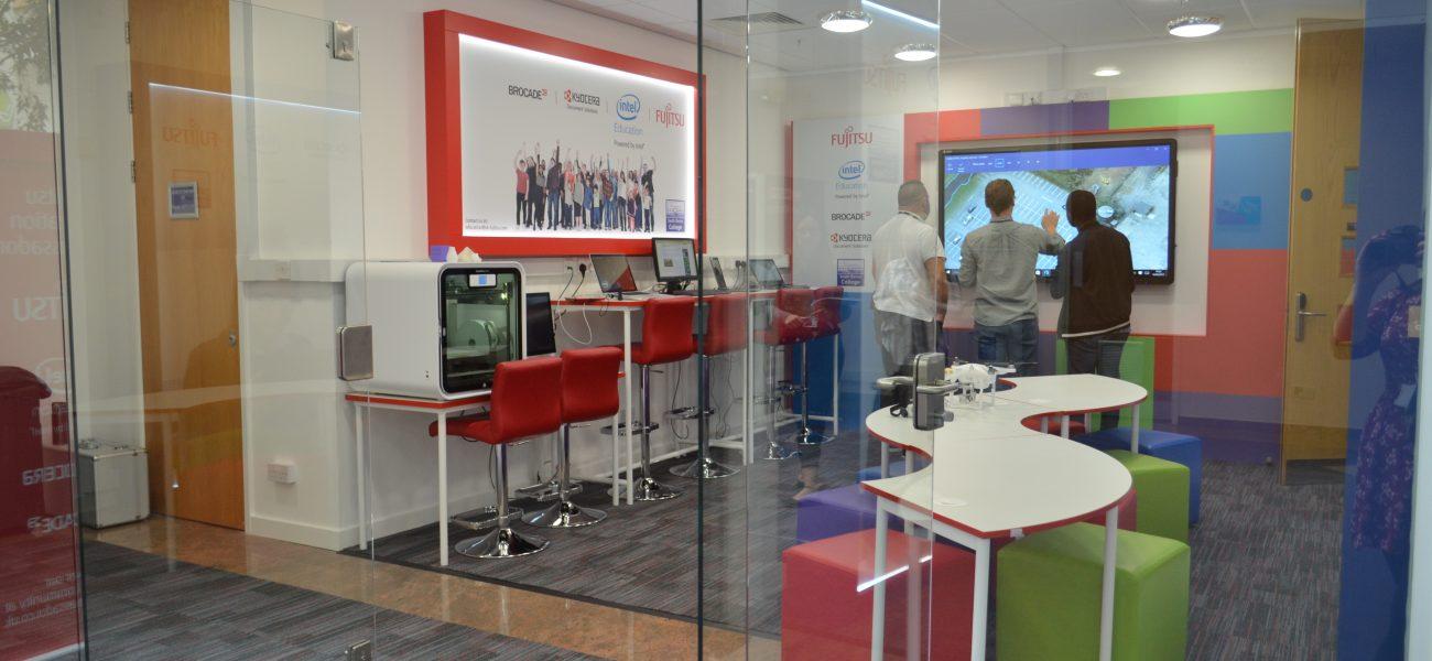 Fujitsu digital innovation hub
