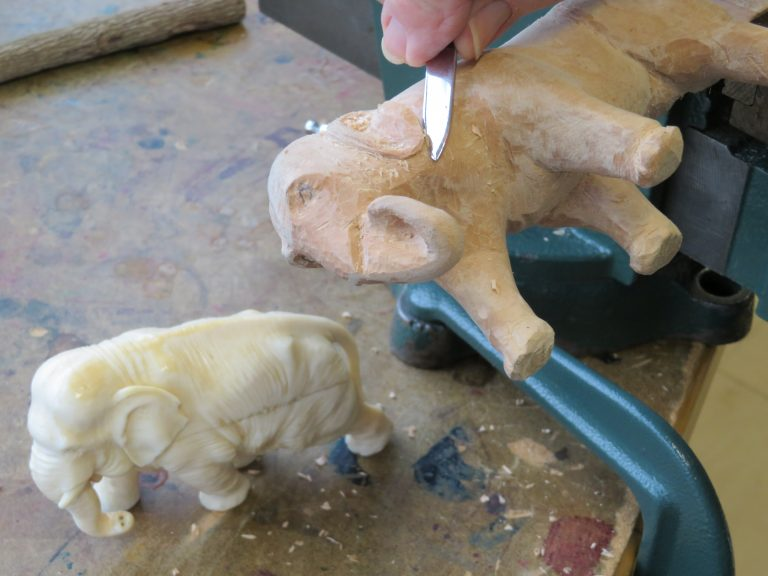 Woodcarving south devon college