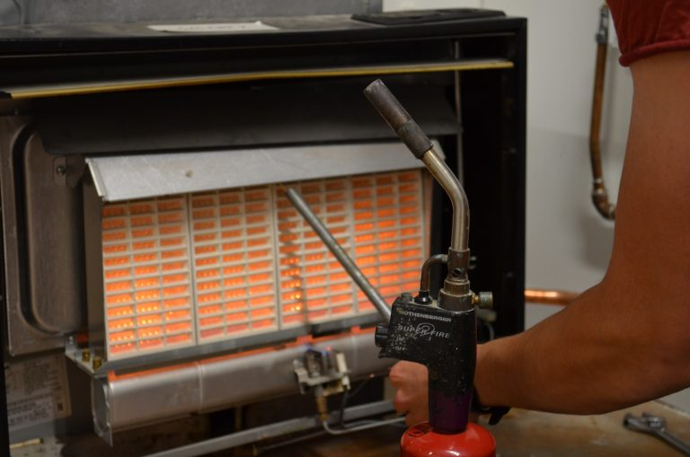 Close up image of a heater.