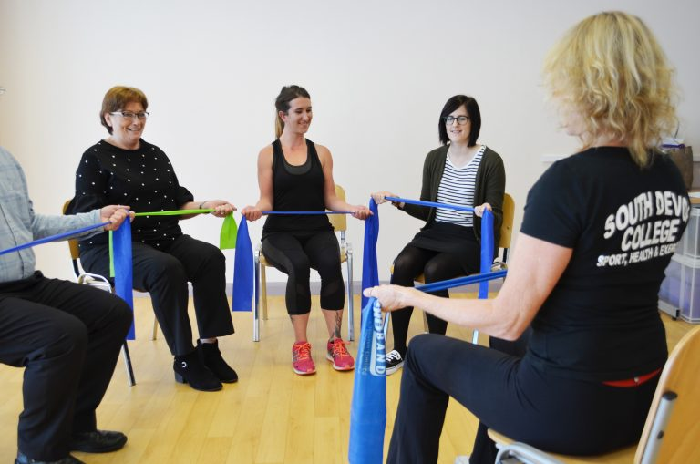 Chair based exercise.