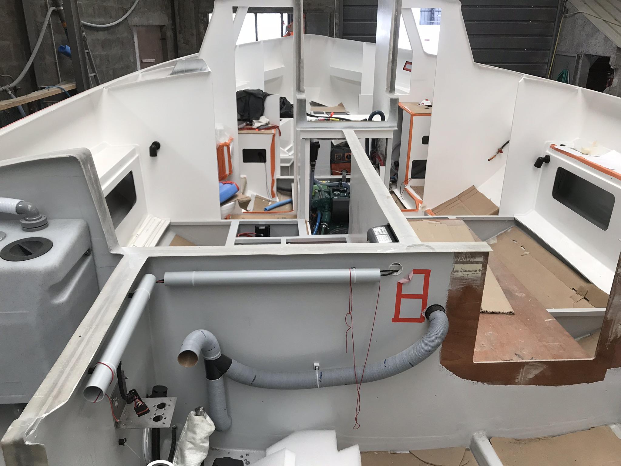 Boat building maintenance course.