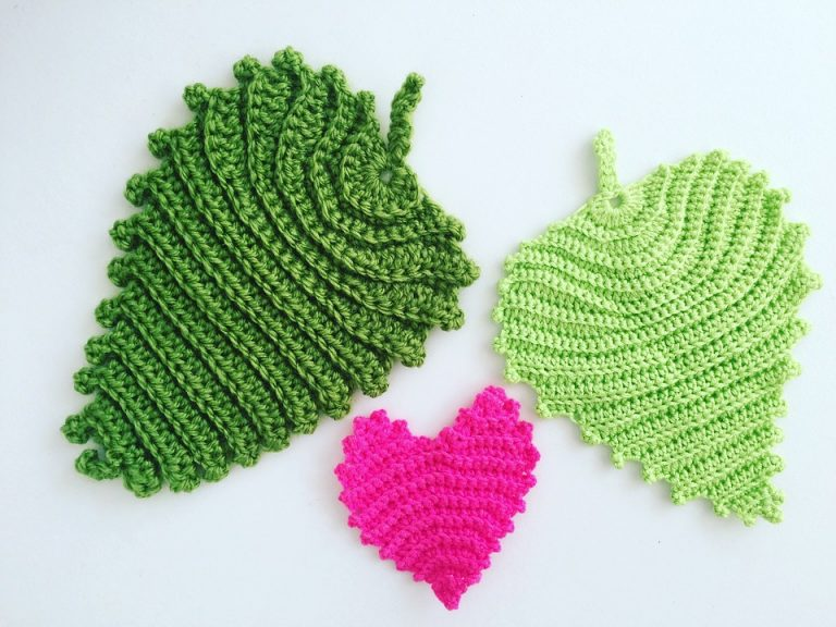 Crochet heart patterns.