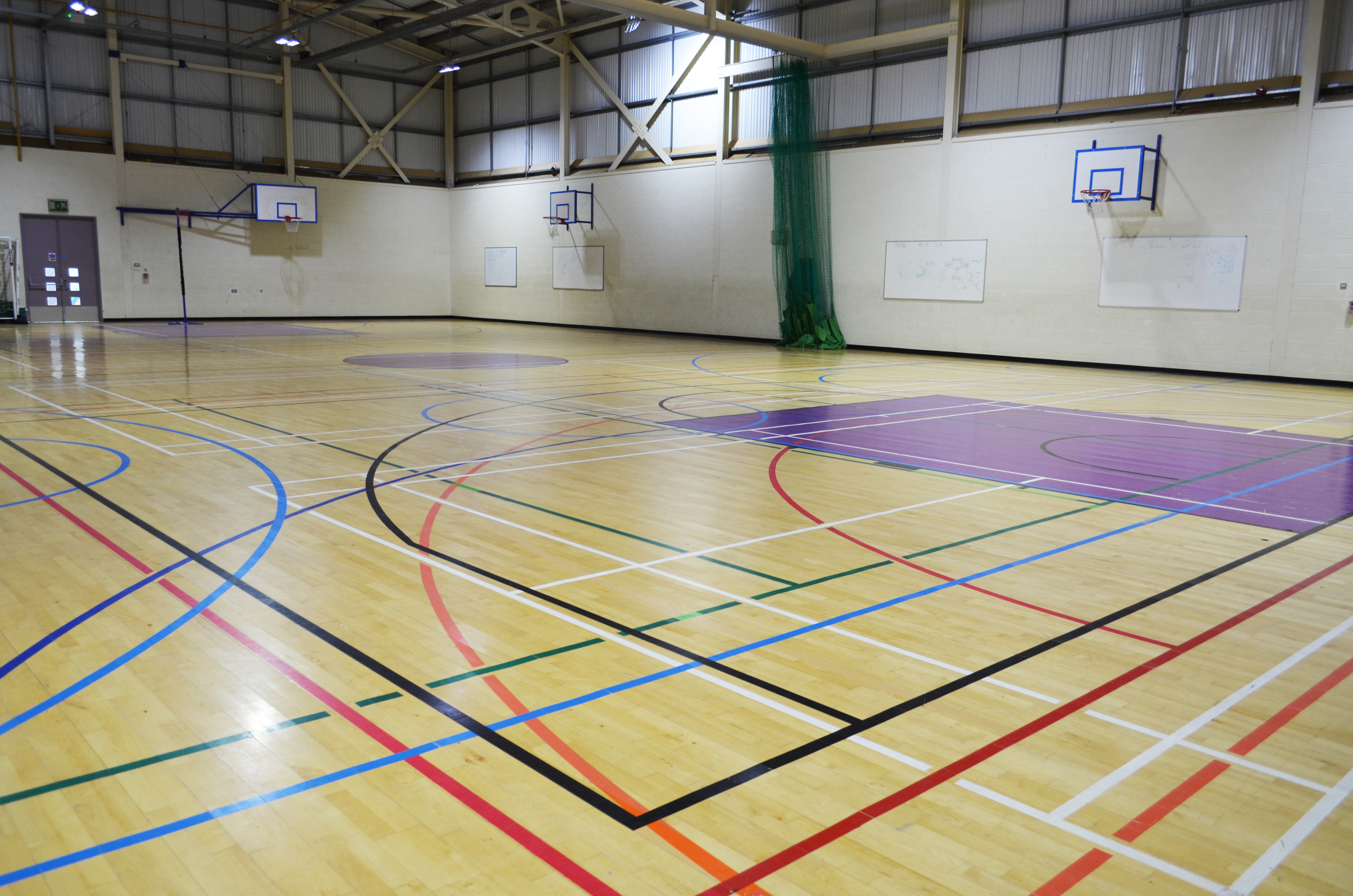 Sports Hall at South Devon College.