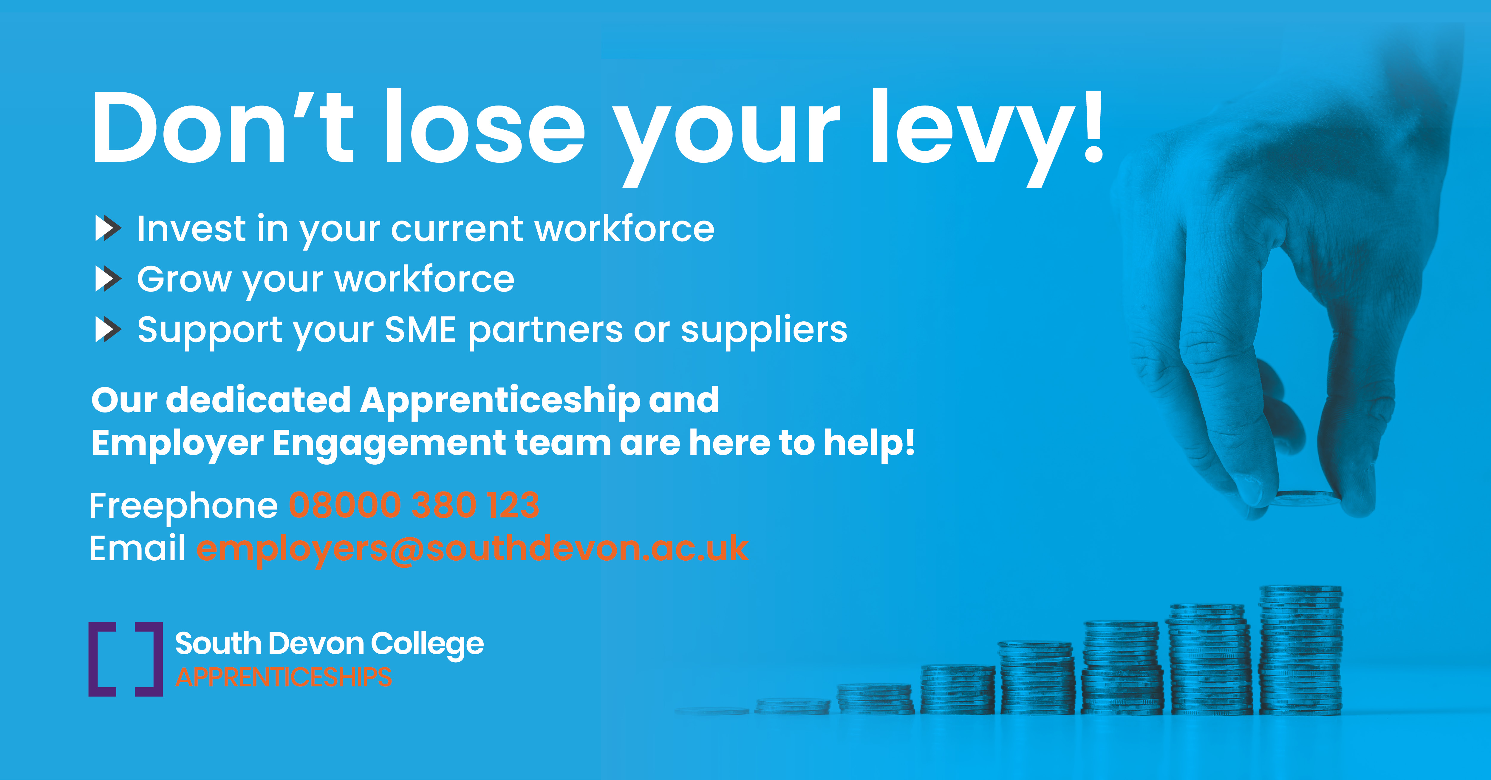 Degree Level Management Training For As Little As 31 25 Per Month South Devon College