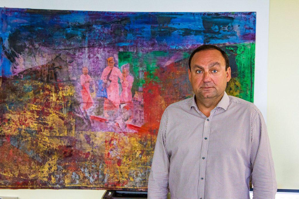 Pav Szymanski, art lecturer