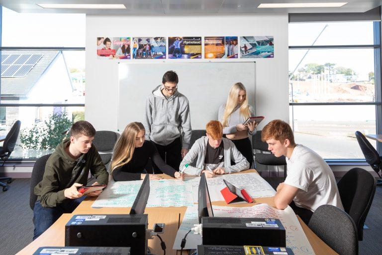 aat serco business skills students digital promotion