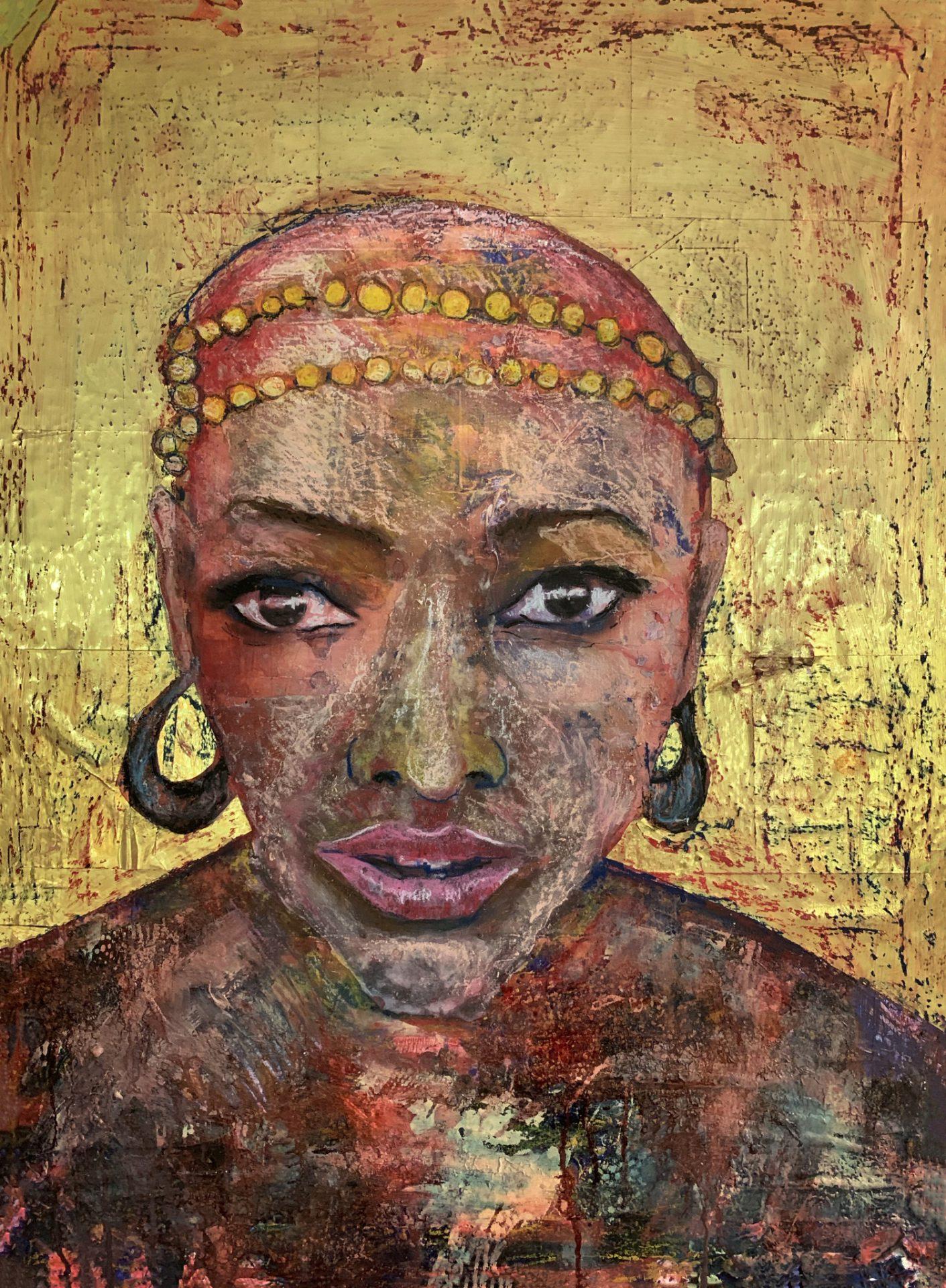 Malaika Mzuri, art by Pav Szymanski