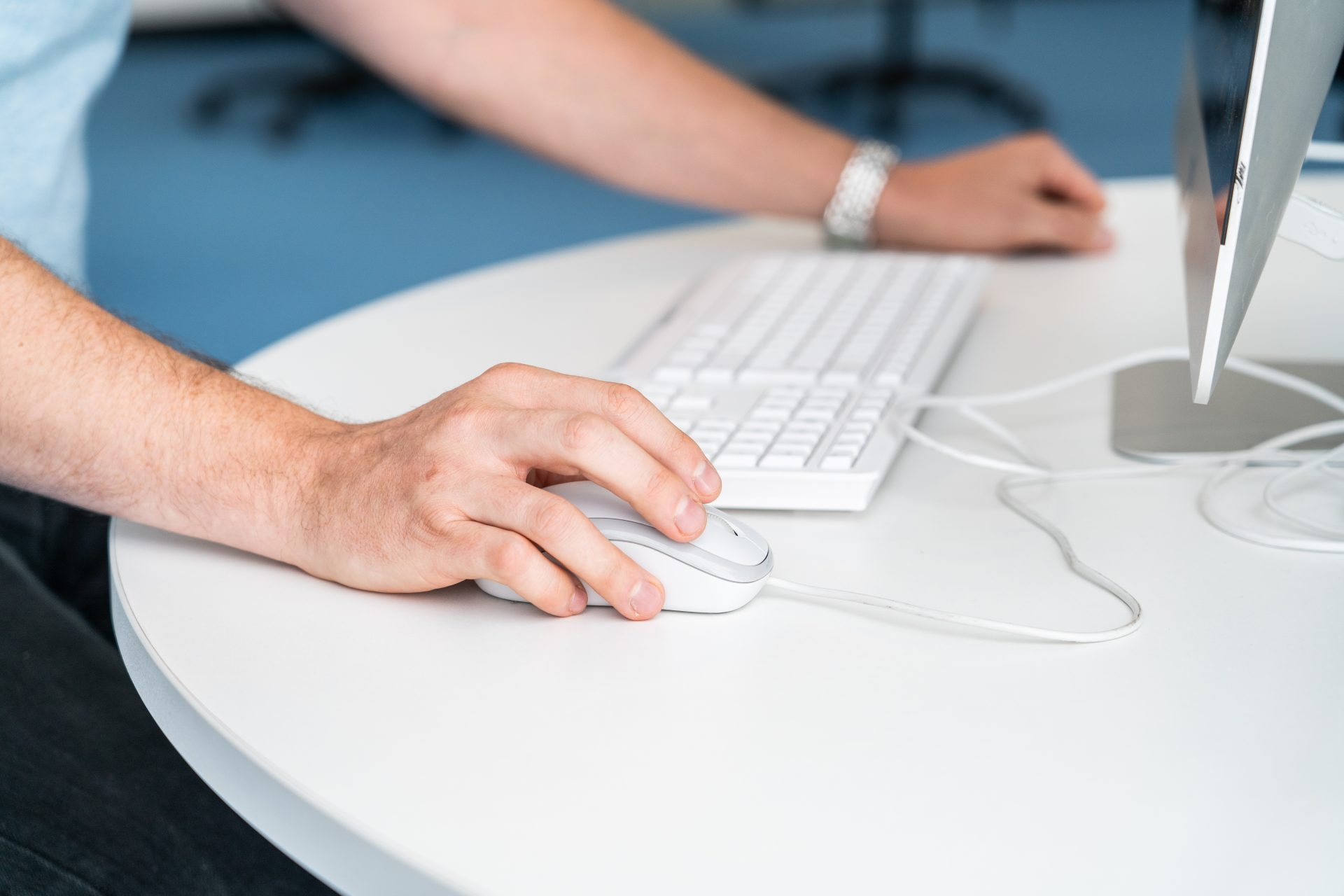 using a computer, ecommerce, wordpress