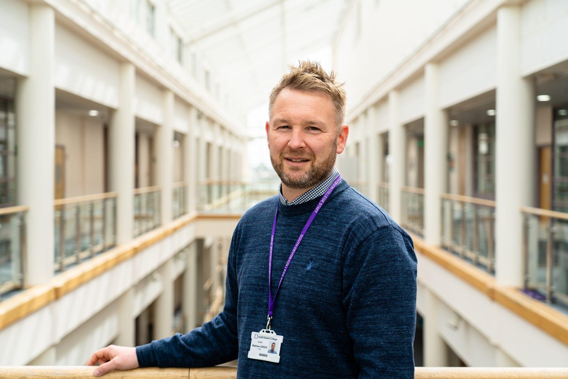 Sustainability Lead, Matt Green